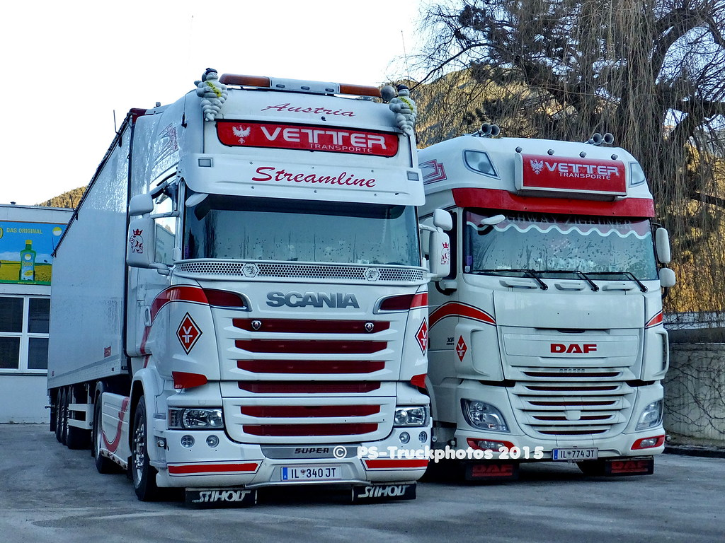 Daf Scania Scania R Streamline Topline Il 340 Jt Daf Xf Superspac Flickr