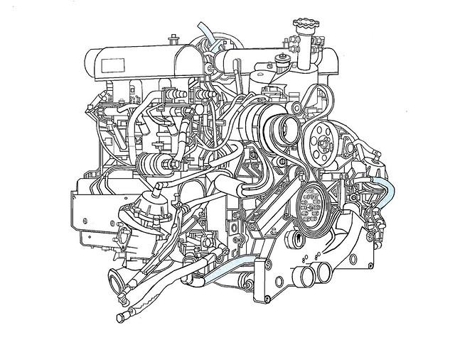 porsche 911 gt1 engine