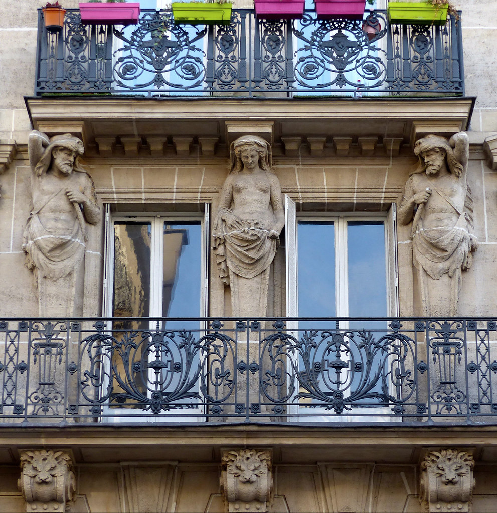 Architecte Paris 10 Paris 10 Immeuble De 1870 Ferdinand Bal Architecte R Flickr
