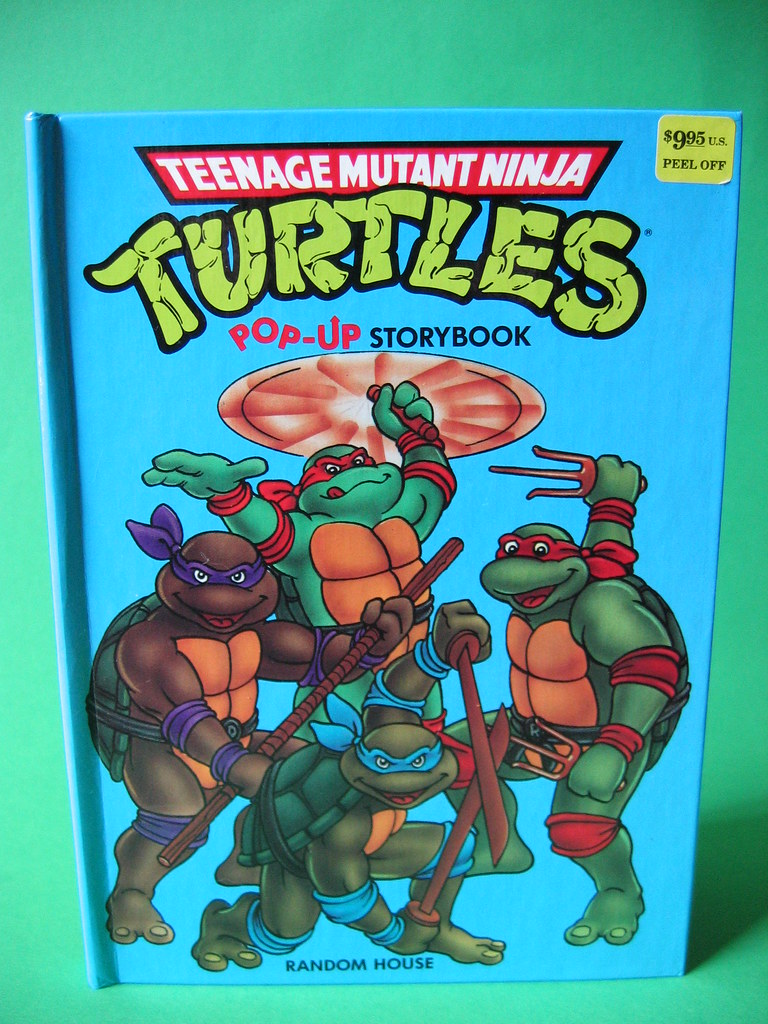 Pop Up Book Cover Turtles Pop Up Book Cover Harry Hendriks Flickr