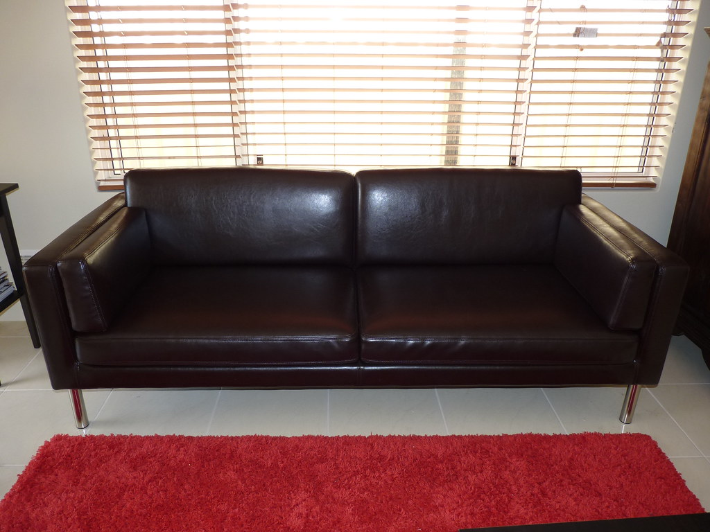 Ikea Sofa Säter Sold Ikea 2 5 Seater SÄter Leather Couch 350 Ono Clea Flickr
