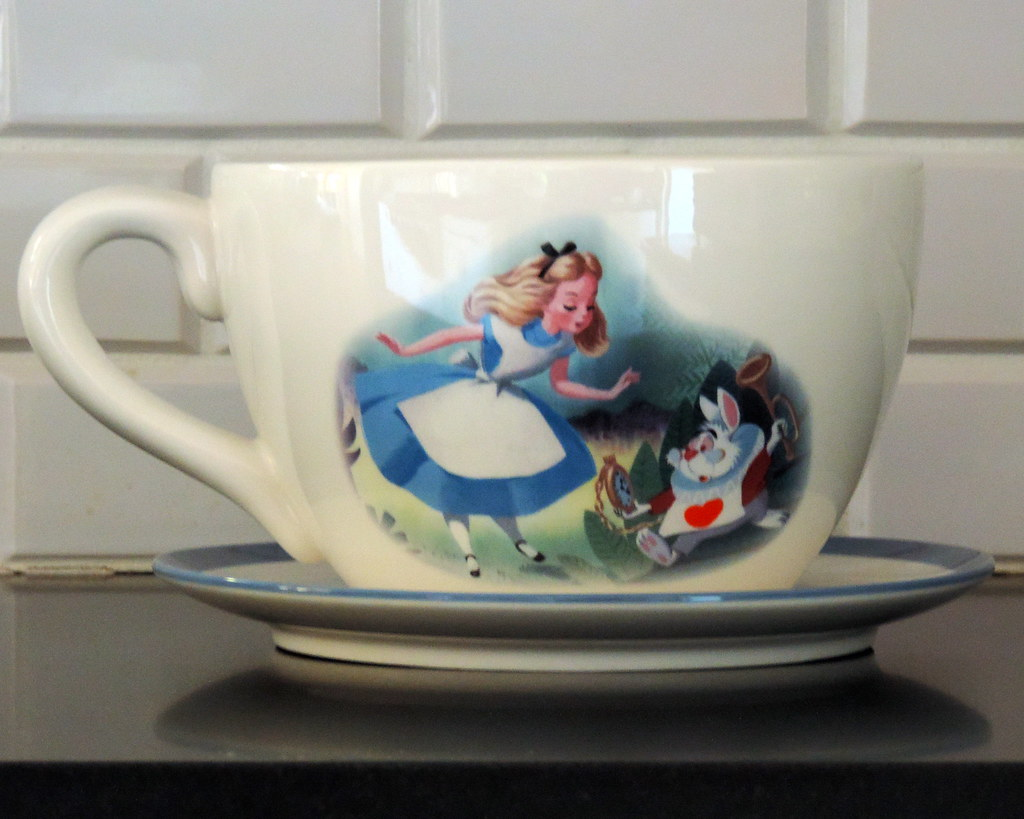Large Tea Cup Planter 10 Alice In Wonderland Large Teacup Planter Height 6 Inc