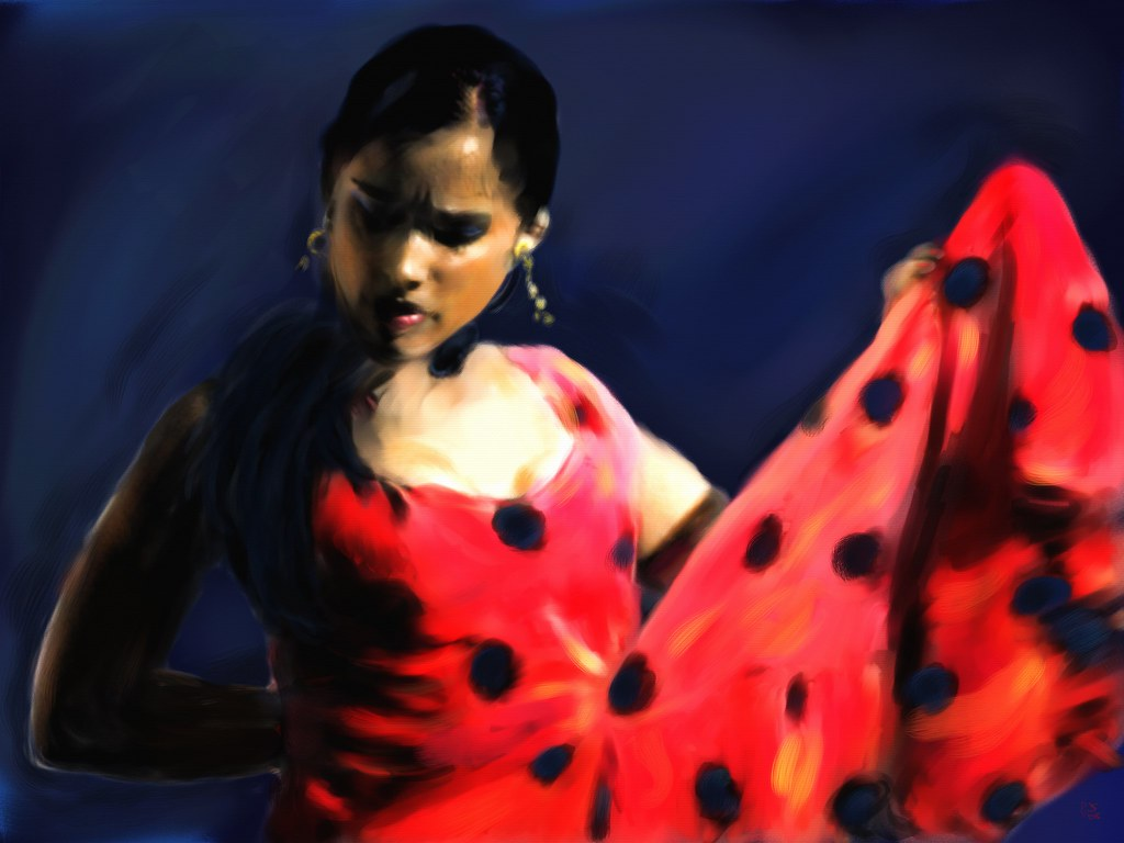 Flamenco Arte Y Ole The Flamenco Dancer The Intense Flamenco Dancer Original Flickr