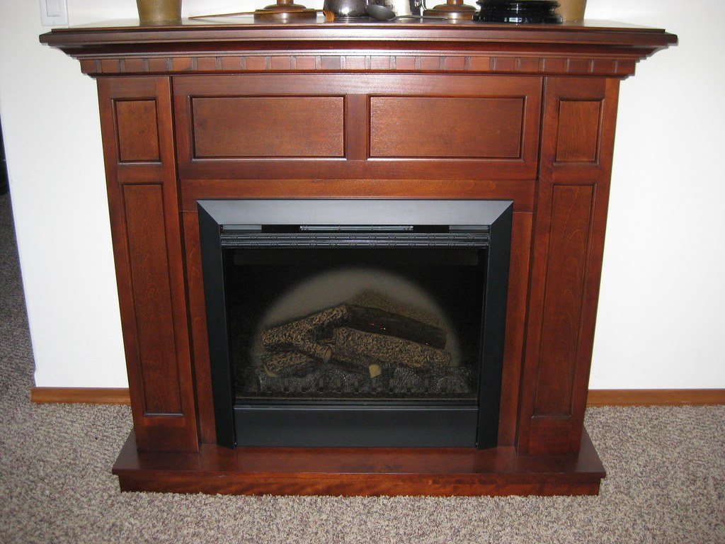 Cherry Fireplace Mantels Dimplex Caprice Cherry Electric Fireplace Mantel Package Flickr