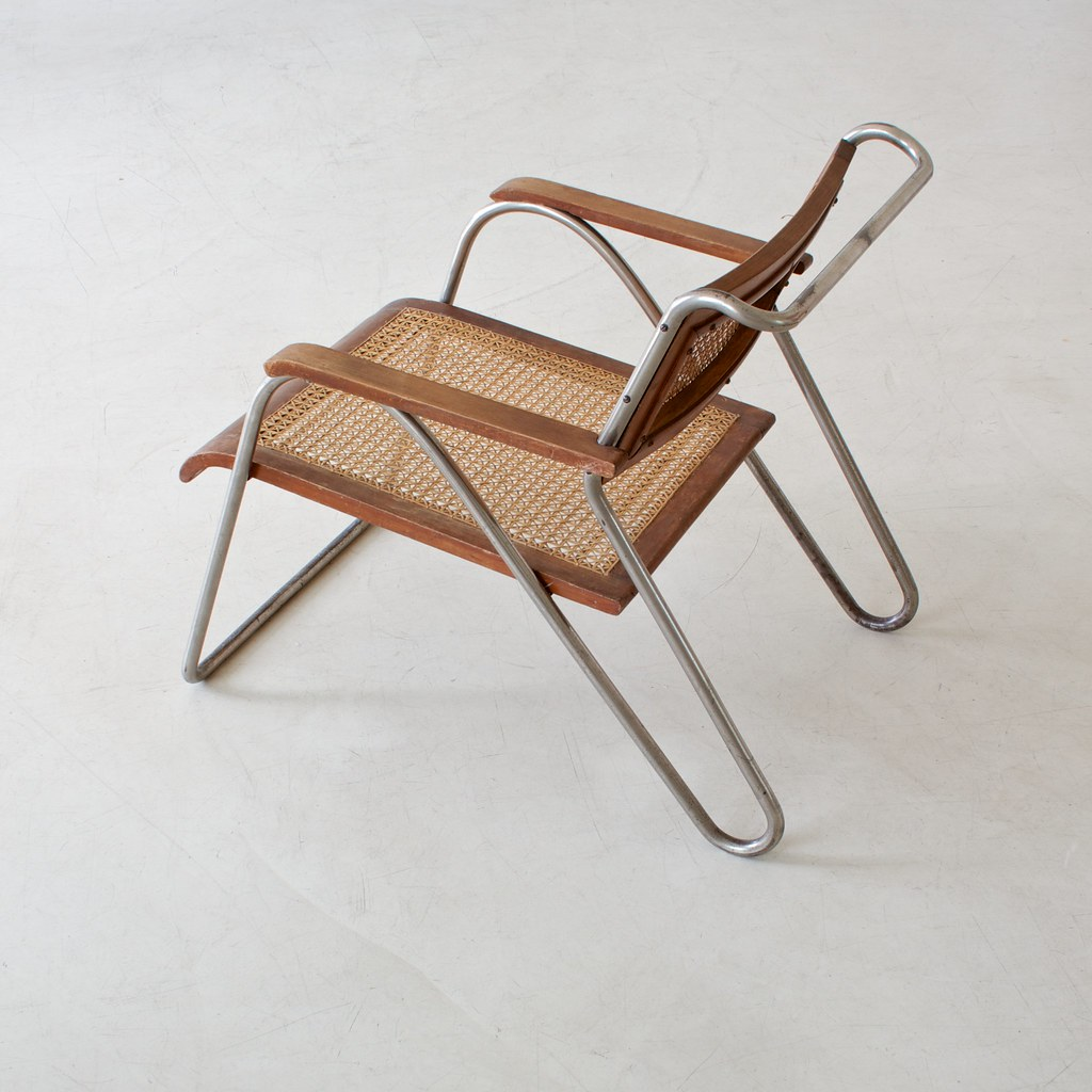 Tubular Steel Chair By Erich Dieckmann Ref 03354 Style B Flickr