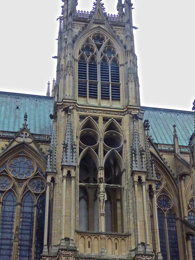Architecte Metz St Stephen S Cathedral Metz France Metz France St Ste Flickr
