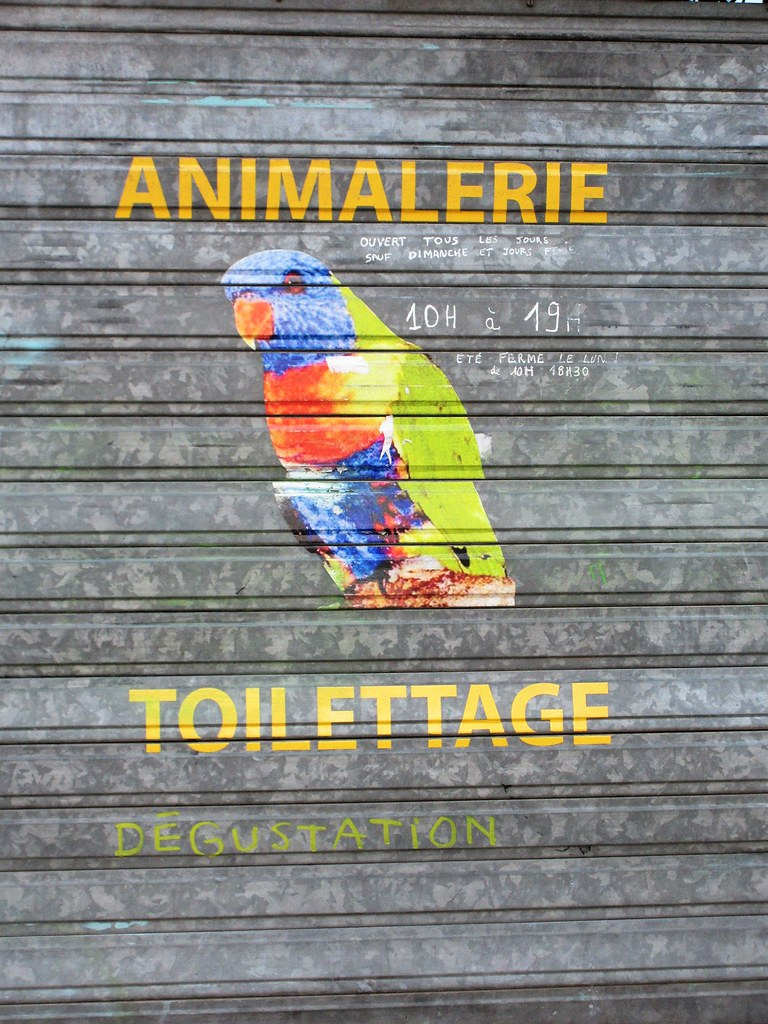 Animalerie Toulouse Animalerie Toilettage Dégustation Pet Shop Sign With Flickr