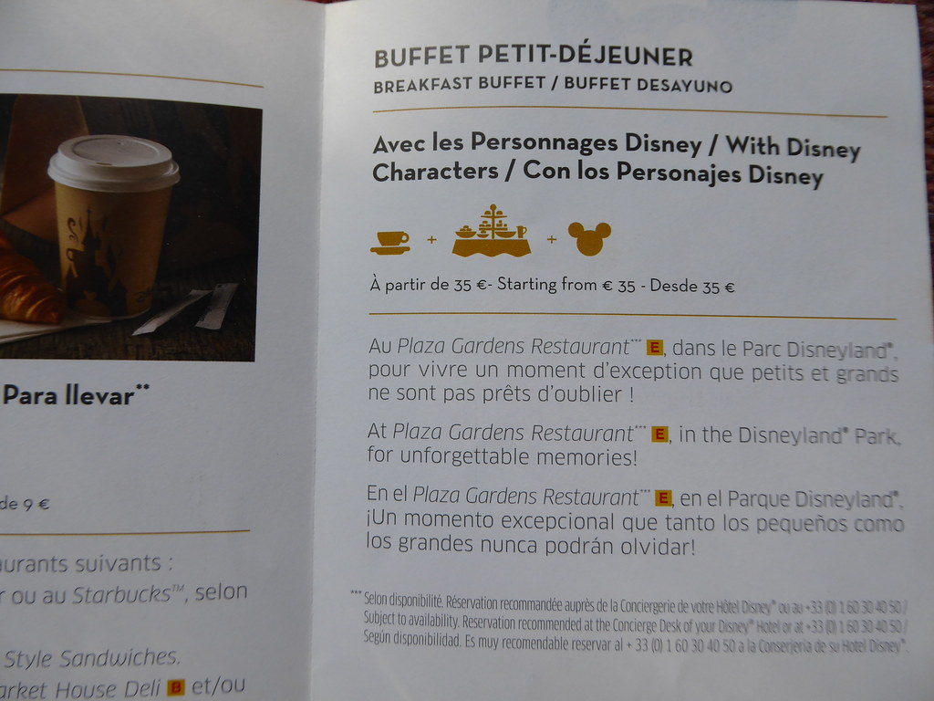 Les Grands Buffets Reservation Character Breakfast In Plaza Gardens Restaurant Disneylan