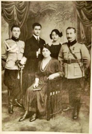 Grigore, Ioan Cristea, Marguerite, Iacob si Rosa Zadik