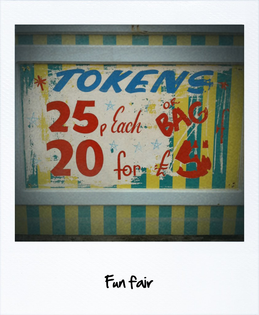 Shabby Look Fun Fair Just Because I Liked The Colours And Shabby Look