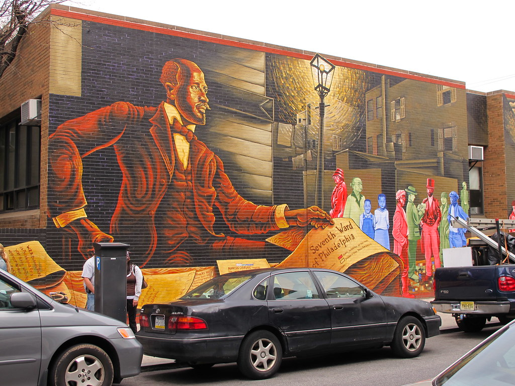 Bois Mural Mapping Courage Honoring W E B Du Bois Engine 11 Flickr