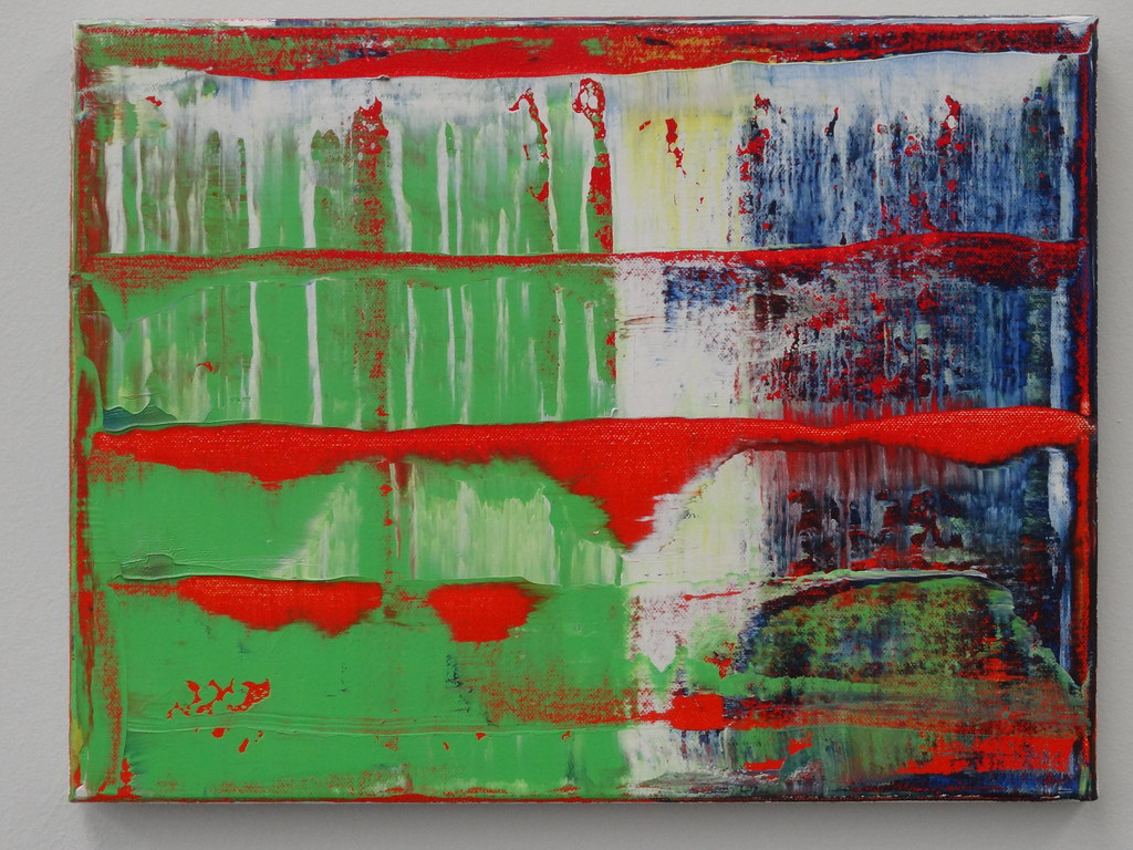 Gerhard Richter Abstraktes Bild 784 120 This Is Painting Flickr