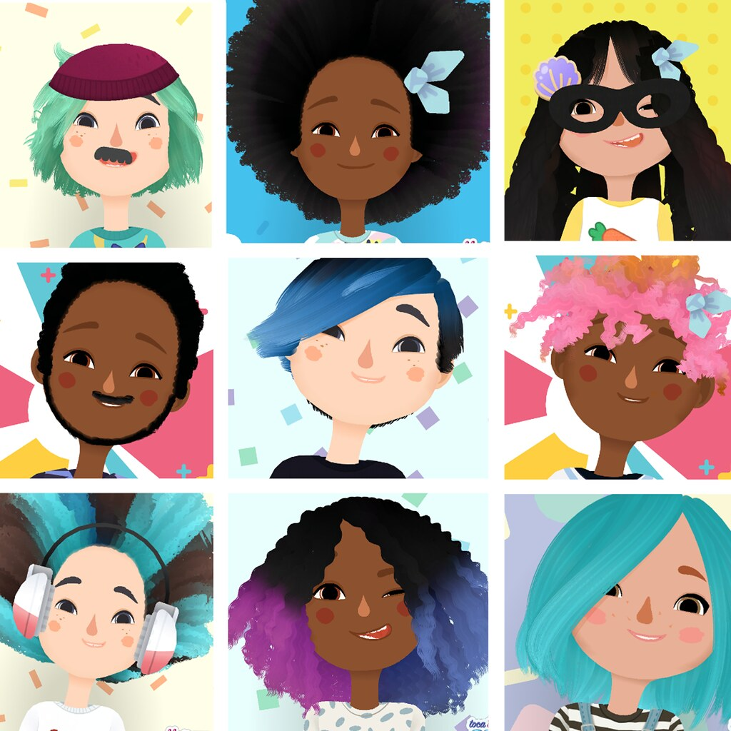 Toca Hair Salon Toca Hair Salon 3 Toca Hair Salon 3 Is Out On The App Stor Flickr