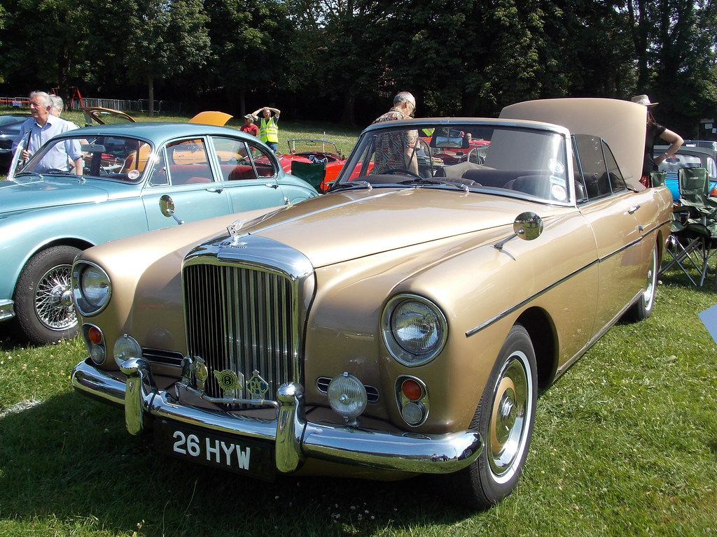 S2 Car Parking 1961 Bentley S2 Park Ward Convertible Purley Classic Car S