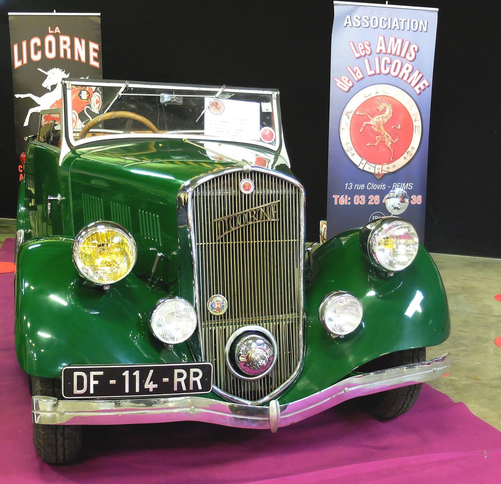 Salon Auto Reims La Licorne Type 415 Cabriolet 1936 Face Salon Auto Moto Flickr
