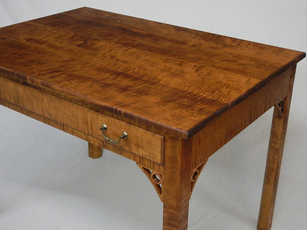 Tiger Maple Writing Desk By Doucette And Wolfe Furniture M Flickr