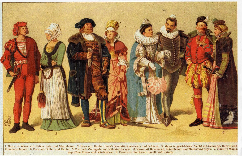 Elegant Men and Women of the 16th Century German Court and\u2026 Flickr