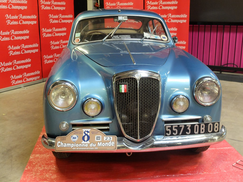 Salon Auto Reims Lancia Aurelia B20 Coupé 1955 Face Salon Moto Auto Rétro Flickr