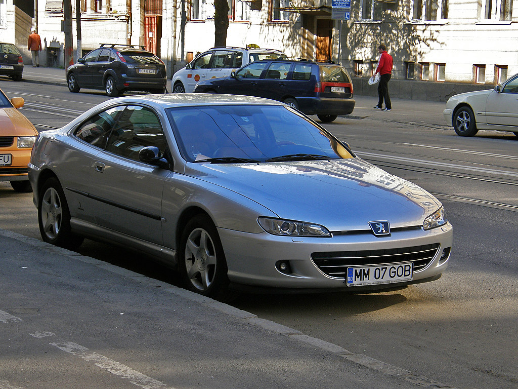 Coupe Peugeot Peugeot 406 Coupe This Is The Facelifted Model From 2003 Flickr