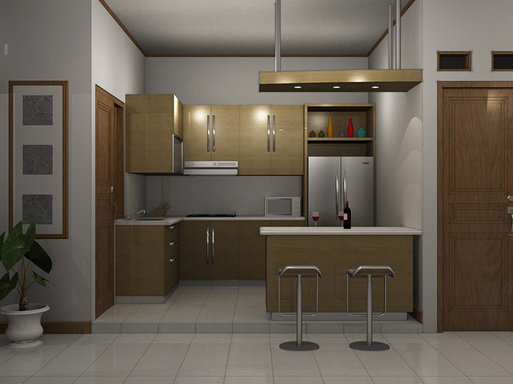 Desai Dapur Desain Dapur Minimalis 1 This Photo Belongs To Rumahdesain Flickr