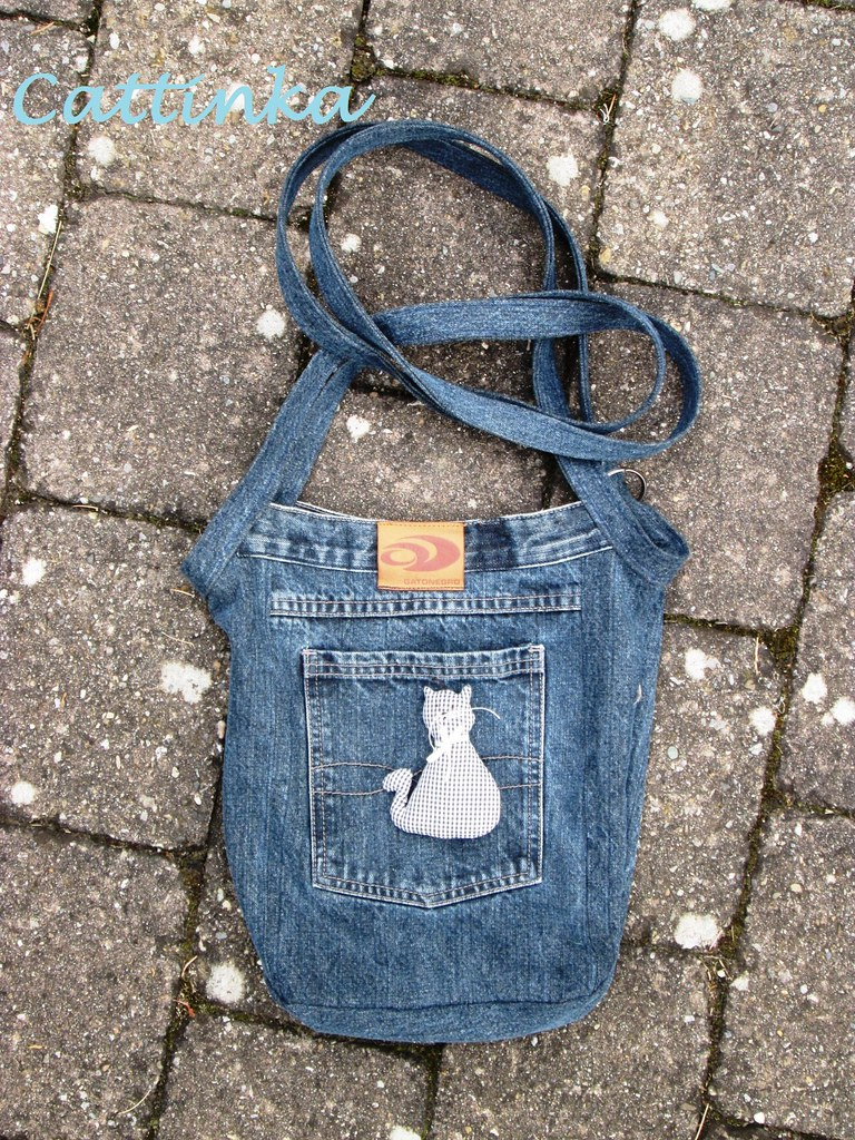 Tasche Recycling Jeans Recycling Tasche Iv Cattinka Crochet Flickr