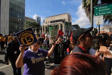 FightFor15 LA 12-4-2014