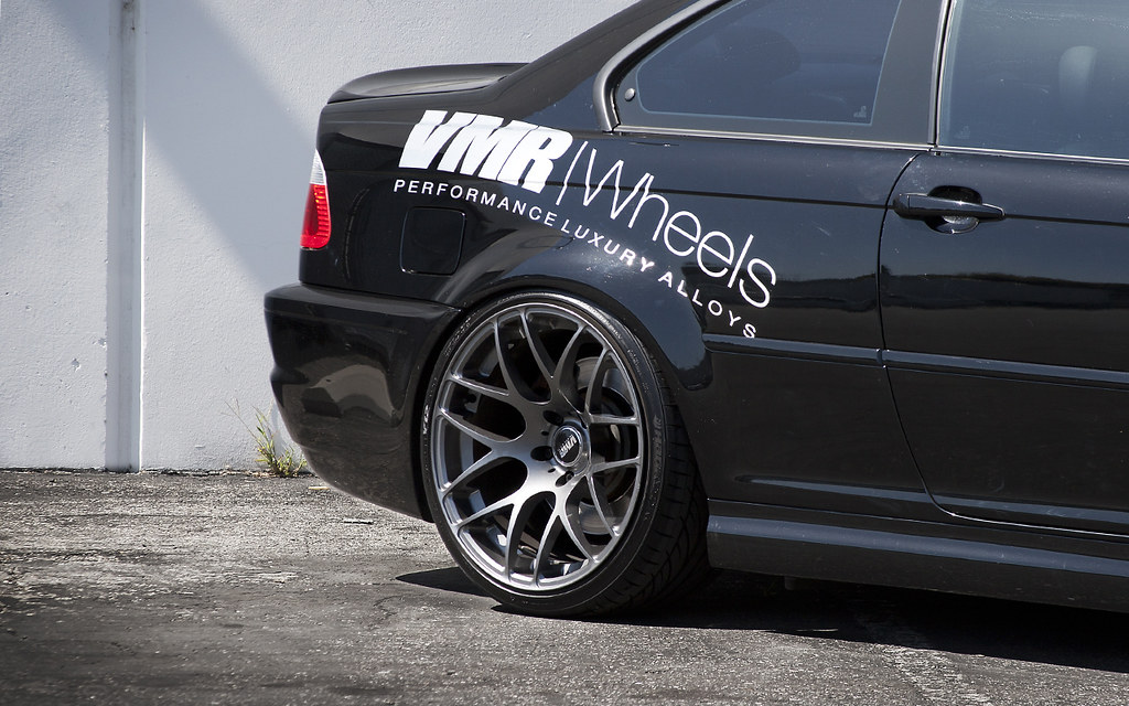 Bmw M3 E 46 Vmr Wheels | Black Sapphire Metallic Bmw E46 M3 Coupe | Flickr