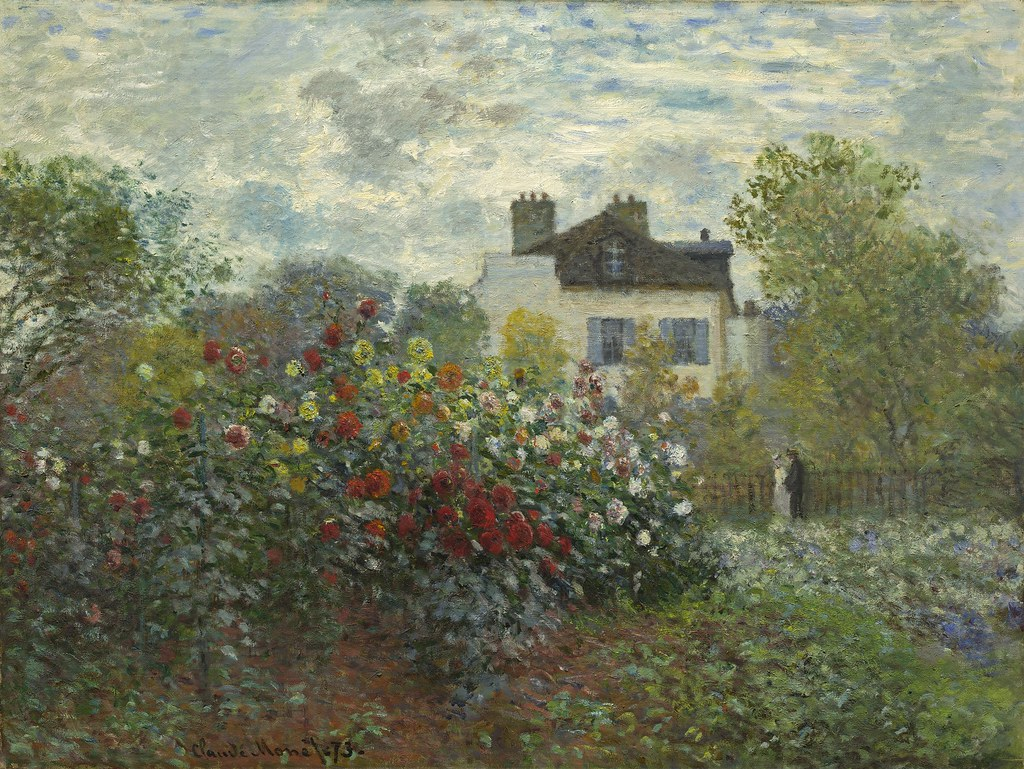 Point P Argenteuil Claude Monet The Artist S Garden In Argenteuil During Th Flickr