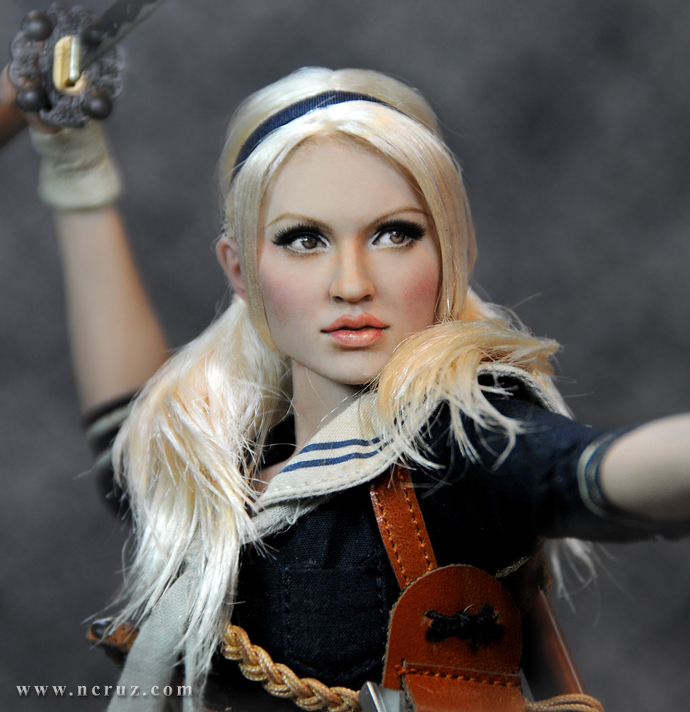 Hot Toys Babydoll 1 6 Hot Toys Sucker Punch Babydoll Custom Repainted Figure
