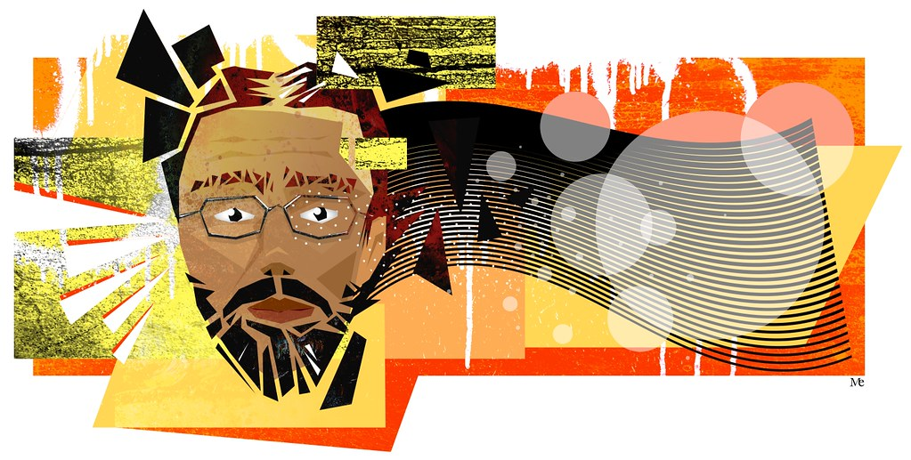 Me A Triangulated Version Of Myself Inkscape Gimp
