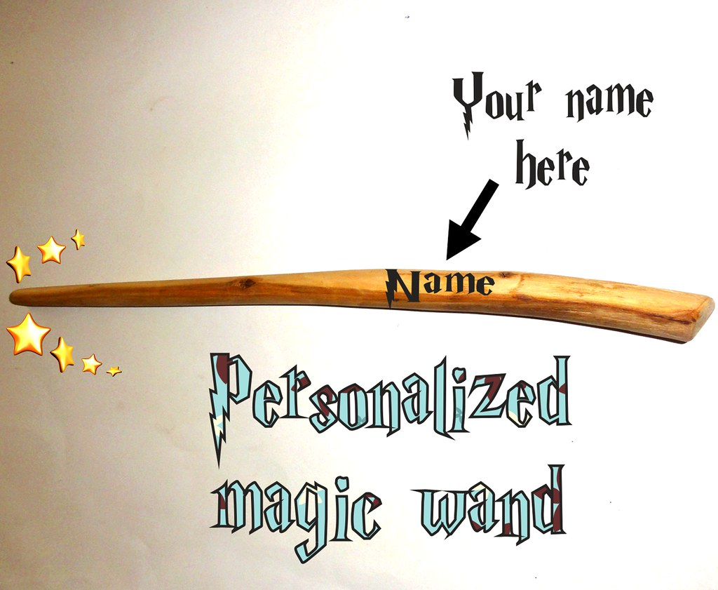 Magic Wand Harry Magic Wand Magic Wands Harry Potter Style Your Name Pri Flickr
