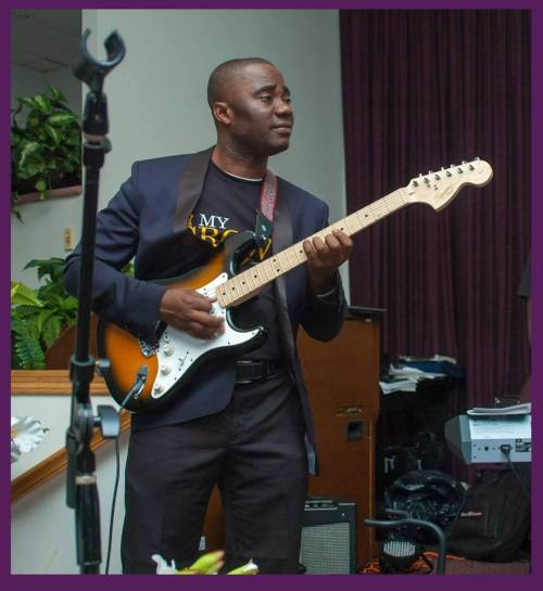 (Lead Guitarist of #L4C Events) ------ (Word & Spirit - Springfield, VA) ________________________________________________________ Say hello to, MR. DANIEL LARYEA a.k.a (Danny), lead guitarist of Live 4 Christ Movement. Glory to Jesus to have this man on our Music Team. He is a humble man of God and very gifted in what he does. I know God will use him mightily to bless this generation. He is also a man of The Word of God, anointed to not just play but preach the good news. A great prayer warrior, worshiper, and minister. Got to love His soul for God.