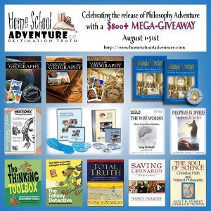 Homeschool Adventure Giveaway