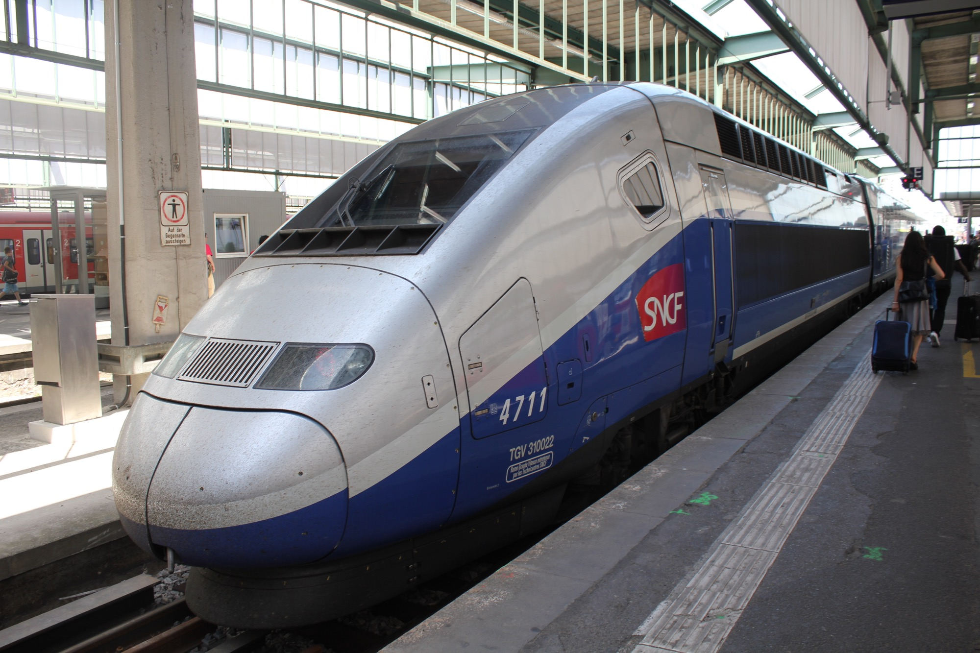 Paris Train Tgv First Class From Stuttgart To Paris Live And Let S Fly