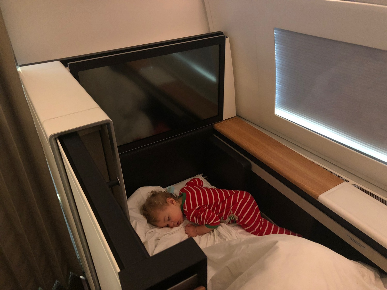 Baby Cot United Airlines Traveling With An Infant In International First Class Live