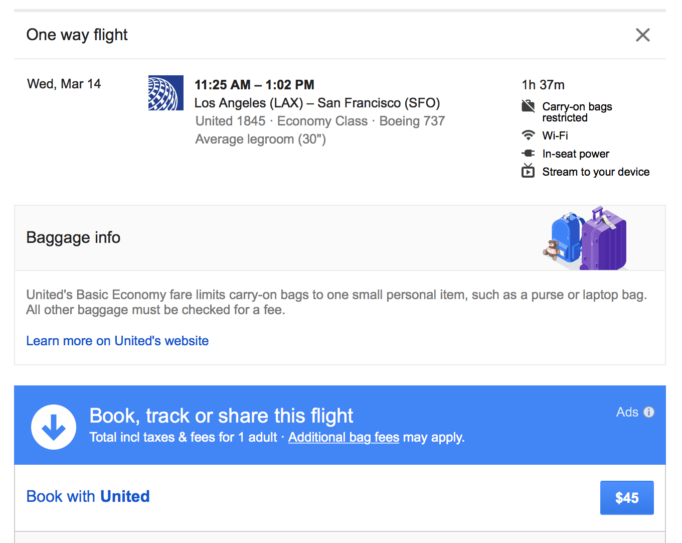 Google Flights Google Flights Predicts Delays Before Airlines Warns Of Basic