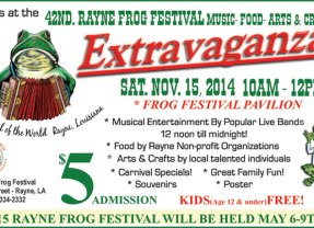 Rayne Frog Festival This Weekend!
