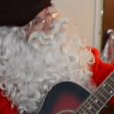 Santa Comes To Live And Local With A Message