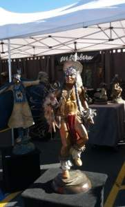 Native American Dancer Statue Carefree AZ