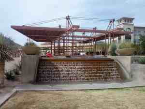 Scottsdale Waterfront Water Feature