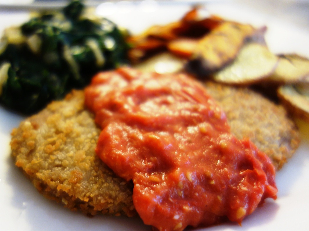 Schnitzel Restaurant Disney Restaurant Recipes Biergarten Schnitzel With Tomato And