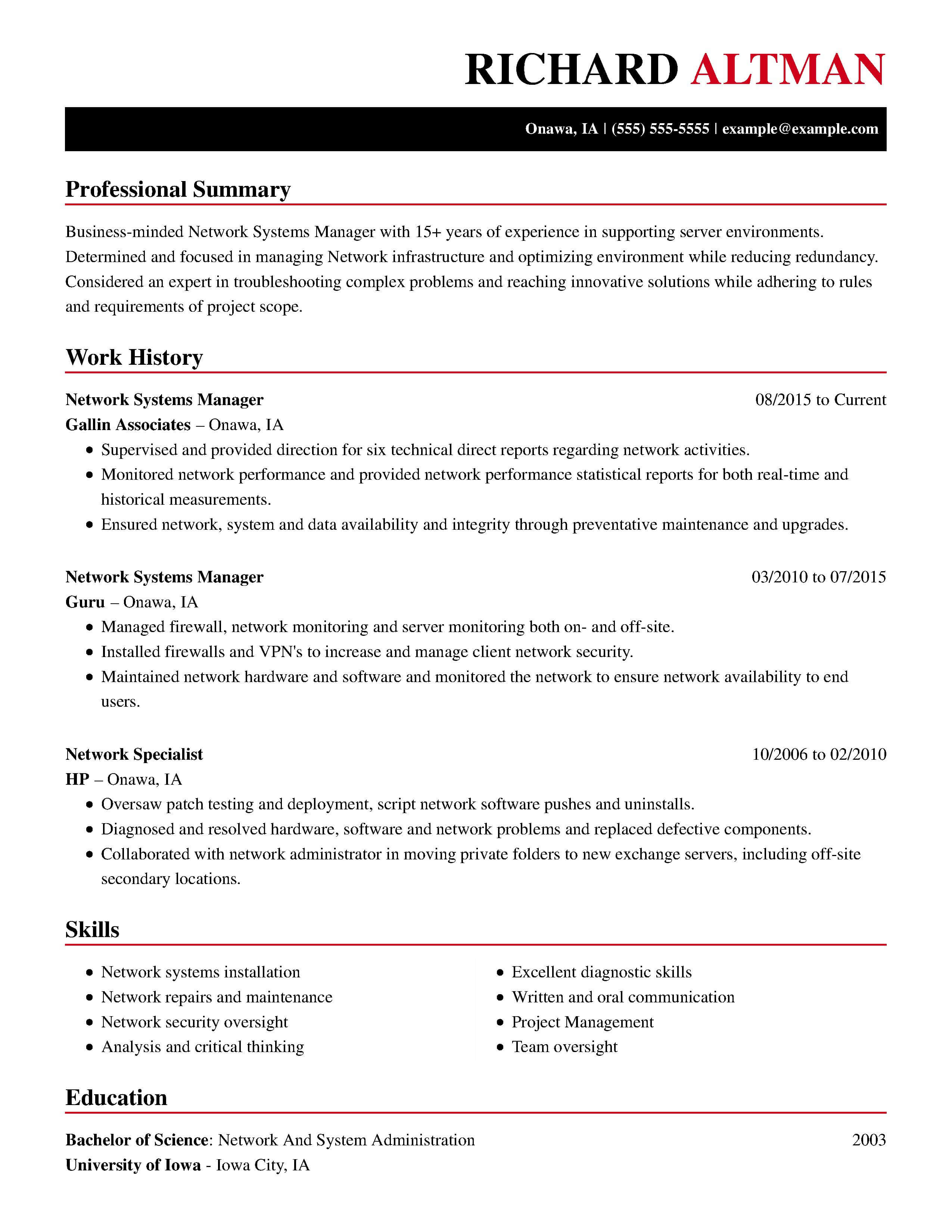 Examples Of A Resume 30 Resume Examples View By Industry Job Title