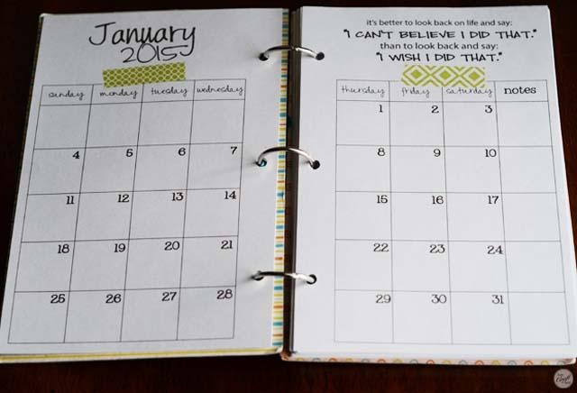 2015 Calendar - Free Printable Monthly Calendar LCE