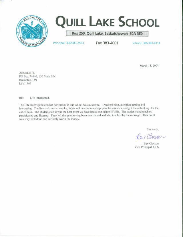 Job reference letter professor