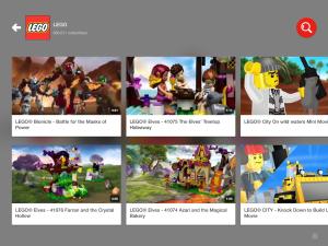 YouTube Kids - LEGO channel