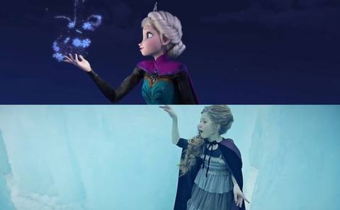 アナと雪の女王 Let It Go Lexi Walker