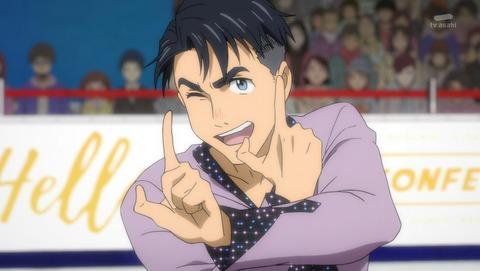 【ユーリ!!! on ICE】第8話 感想 おもしろ選手のバーゲンセール