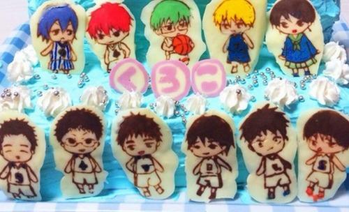 黒子の誕生日!!お祝いのケーキまとめ!!!【黒子のバスケ】