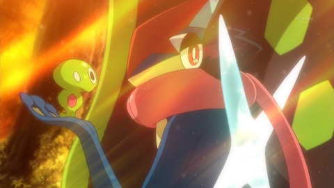 【ポケットモンスター XY&Z】第46話 感想 ゲッコウガ、忍びとしてあるまじき失敗!【ポケモン】