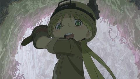 【メイドインアビス】第1話 感想 つるはし持ってマイニング!
